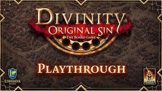 Divinity Original Sin the Board Game Playthrough Video - Sample Game Night