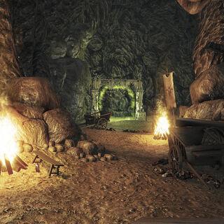 Пещера Ягона Тука и портал