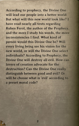DOS Items Books The Coming of the Divine Page2