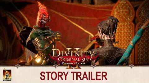Divinity Original Sin 2 - Story Trailer PS4 and Xbox One