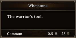 DOS Items Tools Whetstone