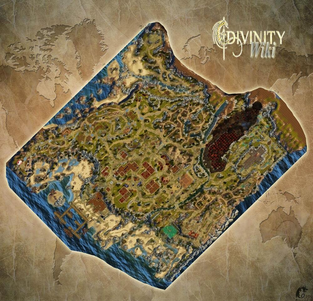 Maps Divinity Original Sin Divinity Wiki Fandom Powered By Wikia