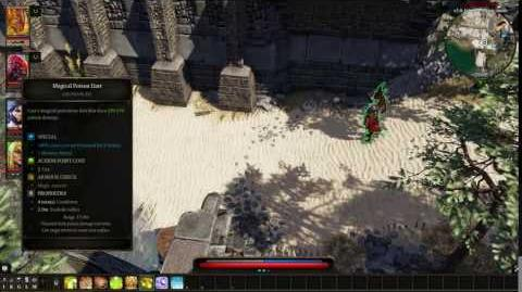 Divinity- Original Sin 2 - Geomancer- Magical Poison Dart