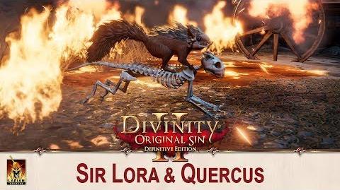 Divinity Original Sin 2 - Sir Lora & Quercus