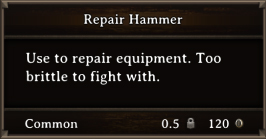 DOS Items Tools Repair Hammer