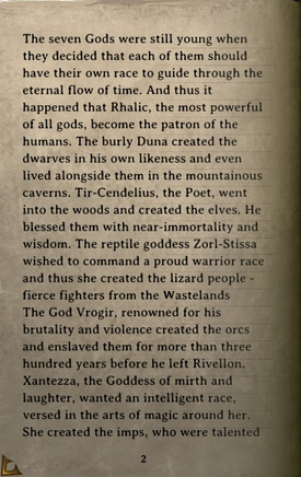DOS Items Books Tales of the Seven Gods Page2