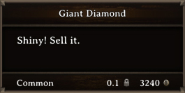 DOS Items Precious Giant Diamond