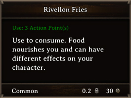DOS Items FnD Rivellon Fries