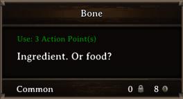 DOS Items CFT Bone