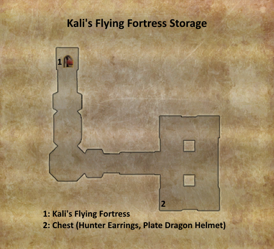 Divinity 2 Kali's Flying Fortress storage map