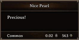 DOS Items Precious Nice Pearl