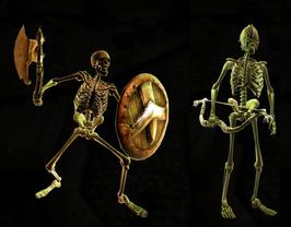 Divinity 2 Skeletons