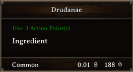 DOS Items CFT Drudanae