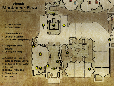 Mardaneus Plaza map (D2 FoV location)