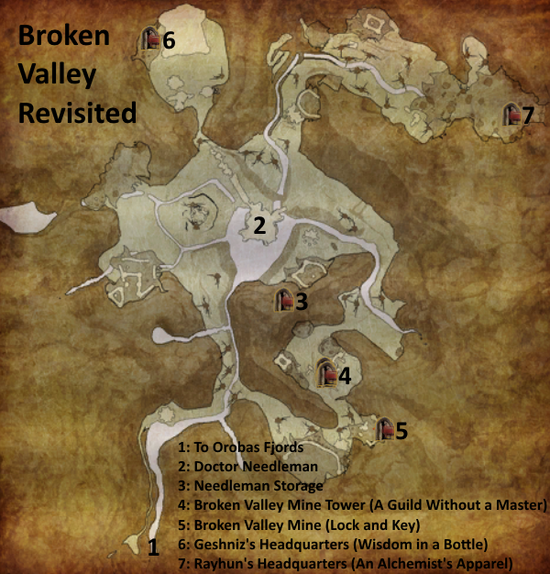 Divinity 2 Broken Valley Revisited map