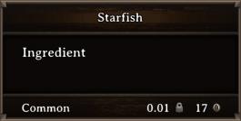 DOS Items CFT Starfish 1