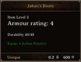 DOS Items Unique Jahan's Boots