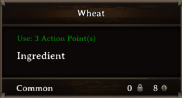DOS Items CFT Wheat