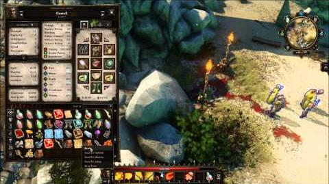 Divinity Original Sin - Evelyn Secret Cave Location - Reveal Spell - Cover Vault - GUIDE - ACT1