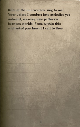 DOS Items Books Cultist Spell Page