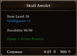 DOS Items CFTX 10.5 Skull Amulet