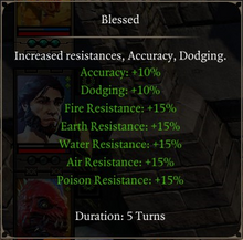 Divinity- Original Sin 2 - Status Effect- Blessed
