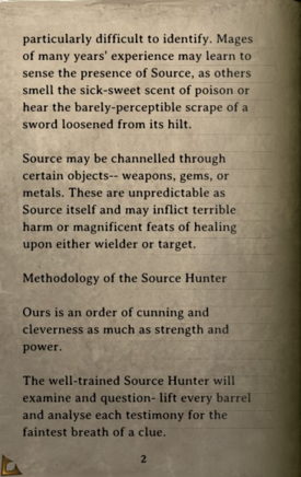 DOS Items Books The Order of the Source Hunters Page2