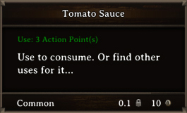 DOS Items FnD Tomato Sauce