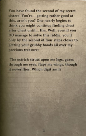 DOS Items Books Dusty Parchment (2nd Chest) Page