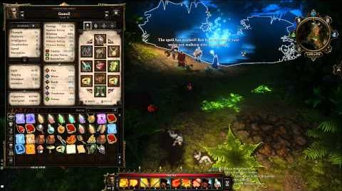 Divinity Original Sin - Witch's Grotto - Vaelanna's Orders - Cultists Spells - Get into The Pond -A2
