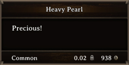 DOS Items Precious Heavy Pearl