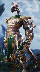Ranger Undead Lizard Male