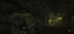 Forgotten Crypt hero pursuing Skulk (D2 FoV location)