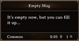 DOS Items CFT Empty Mug