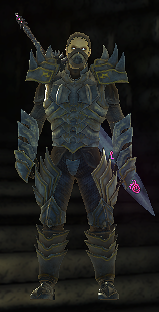 Scorpion armour set male sheathed