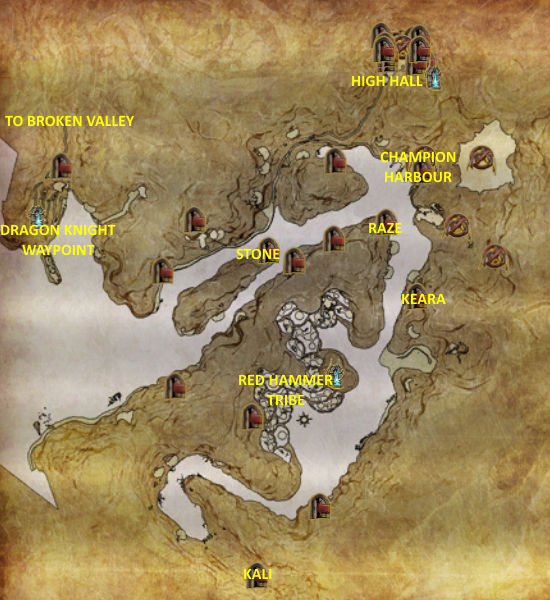 Divinity 2 Champion Harbour location map