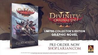 Divinity Original Sin - Godwoken Graphic Novel Trailer