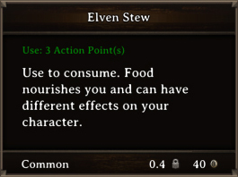DOS Items FnD Elven Stew