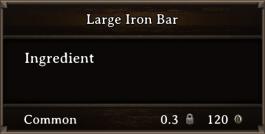 DOS Items CFT Large Iron Bar