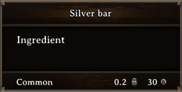 DOS Items CFT Silver Bar
