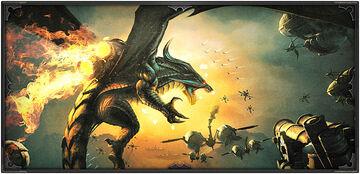 Dragon Command dragon artwork
