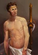Painting portrait appoloLike