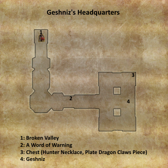 Divinity 2 Geshniz's Headquarters map