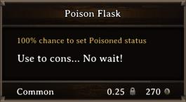 DOS Items Pots Poison Flask