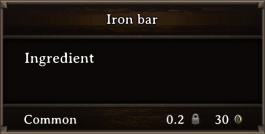 DOS Items CFT Iron Bar