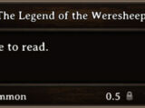 The Legend of the Weresheep (book)