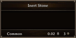 DOS Items Misc Inert Stone Stats