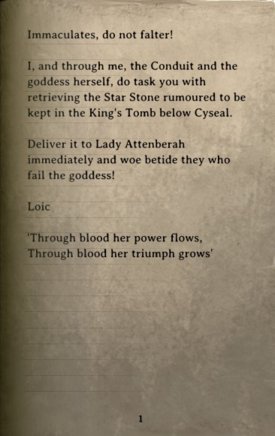 DOS Items Books Cultist's Orders Page