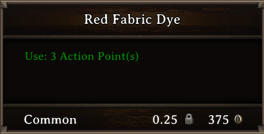 DOS Items CFT Red Fabric Dye