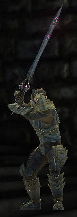 Scorpion armour set male unsheathed